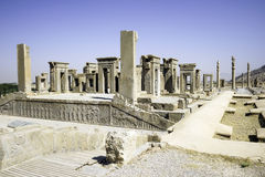 Persepolis w północy Shiraz, Iran Ja prowadził swój desygnat jako UNESCO światowego dziedzictwa miejsce Obrazy Royalty Free