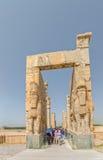 Persepolis Xerxes Gate fotografía de archivo libre de regalías