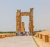 Persepolis Xerxes Gate fotos de archivo