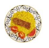 Perser Pan Kebab arkivbilder