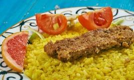 Perser Pan Kebab royaltyfri bild