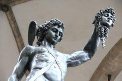 Perseus和水母 免版税库存照片