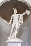 Perseus雕象与水母` s头的在梵蒂冈博物馆 库存照片