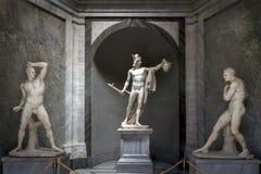 Perseus θριαμβευτικό από το Antonio Canova Στοκ φωτογραφία με δικαίωμα ελεύθερης χρήσης
