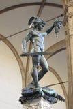 Perseus με τον επικεφαλής Medusa Στοκ φωτογραφία με δικαίωμα ελεύθερης χρήσης