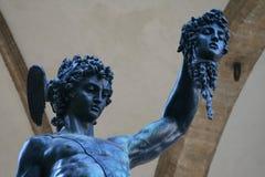 Perseus с Медузой Стоковые Изображения