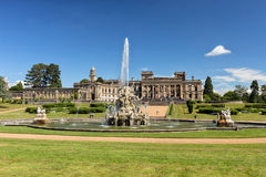 Perseus and Andromeda Fountain, Witley Court, Worcestershire, England. The famous Perseus and Andromeda fountain, one of the finest and largest in Europe. The Stock Images