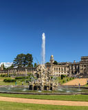 Perseus and Andromeda Fountain, Witley Court, Worcestershire, England. This image shows the famous Perseus and Andromeda fountain, one of the finest and largest Royalty Free Stock Image