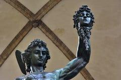 Perseus avec la tête de la méduse photographie stock libre de droits