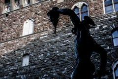 Perseus com cabeça do Medusa imagem de stock royalty free