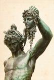 Perseus com o Medusa Gorgon Fotografia de Stock Royalty Free