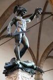 Perseus con la testa della medusa Fotografia Stock Libera da Diritti