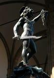 Perseus dans Fiorentina Images libres de droits