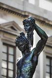 Perseus with the Head of Medusa Stock Images