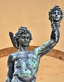 Perseus with the Head of Medusa Stock Image