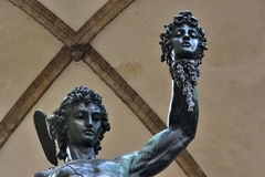 Perseus with the head of Medusa royalty free stock photography