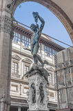 Perseus with the Head of Medusa in Florence, Italy Stock Photography