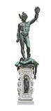 Perseus holding head of Medusa stock image