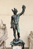 Perseus holding head of Medusa Stock Image