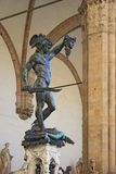 Perseus holding head of Medusa Stock Images