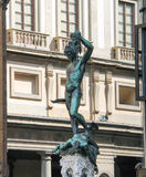 Perseus holding the head of Medusa by  Benvenuto Cellini Stock Photos