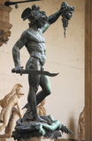 Perseus holding the head of Medusa Royalty Free Stock Photo