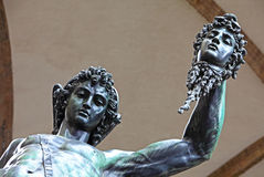 Perseus and Medusa Stock Images