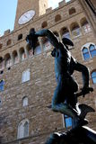 Perseus with Medusa's head, Florence, Italy Royalty Free Stock Photo
