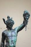 Perseus och Medusa Arkivfoto