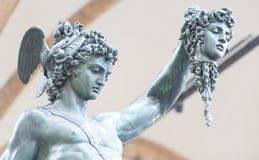Perseus por Benvenuto Cellini Fotografia de Stock