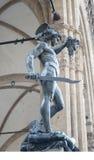 Perseus slaying medusa. Statue by Donatello , perseus slaying medusa Royalty Free Stock Photos