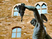Perseus statue in florence Royalty Free Stock Image