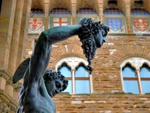 Perseus statue in Florence Royalty Free Stock Photos