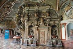 Perseusbrunnen przy grota sądem Residenzmuseum w Monachium Zdjęcia Royalty Free