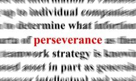 Perseverencia stock de ilustración