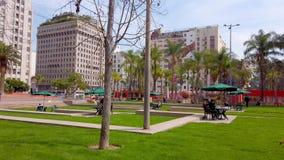 Pershing τετραγωνικό Λος Άντζελες κεντρικός - ΛΟΣ ΑΝΤΖΕΛΕΣ, ΗΠΑ - 1 ΑΠΡΙΛΊΟΥ απόθεμα βίντεο
