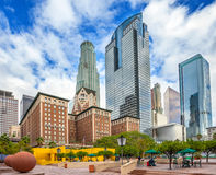 Pershing Square in Los Angeles Royalty Free Stock Photography