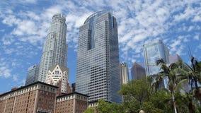 Pershing Vierkant, Van de binnenstad Los Angeles, Verenigde Staten stock afbeelding