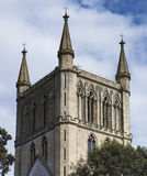 Pershore abbey park Royalty Free Stock Images