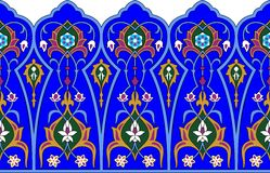 Persian border Royalty Free Stock Images