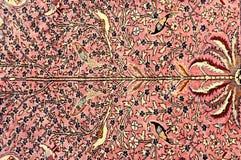 Persian Carpet. Details on vintage Persian Carpet Royalty Free Stock Image