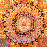 Persian carpet design Royalty Free Stock Photo