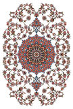 Persian Carpet Design Stock Images