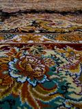 Royal Palace Persian Carpet pattern, Persian carpet with an Intricate design. Persian carpet, famous traditional persian carpets and rugs, Royal Palace Persian royalty free stock photography