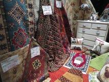 Persian carpet store in Siena Royalty Free Stock Photo