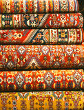 Persian carpets. (Iranian carpets and rugs Stock Images