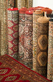 Persian carpets. Stock of handmade persian carpets Royalty Free Stock Images