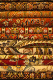 Persian carpets. Persian carpet or iranian carpets and rugs Royalty Free Stock Image