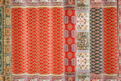 Persian carpets. Traditional Persian carpets made from natural wool Stock Image