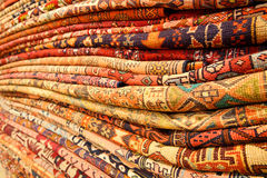 Persian carpets. (Iranian carpets and rugs Stock Photo